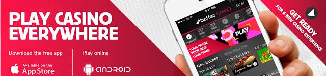 Betfair казино мобилно приложение
