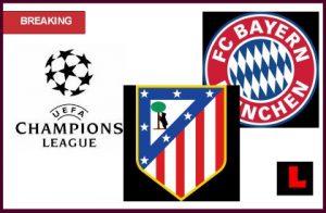 Прогноза за Атлетико Мадрид - Байерн Мюнхен